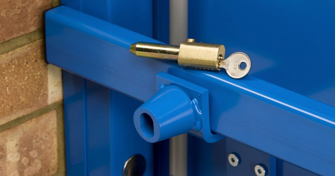 steel security doors - تعمیر درب اتوماتیک